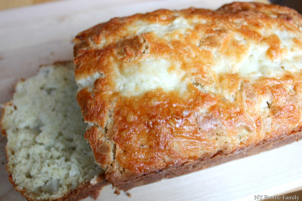 This Apple Cheddar Quick Bread is an easy to make bread.  It's a perfect fall bread and a great way to use some of those apples you just picked!