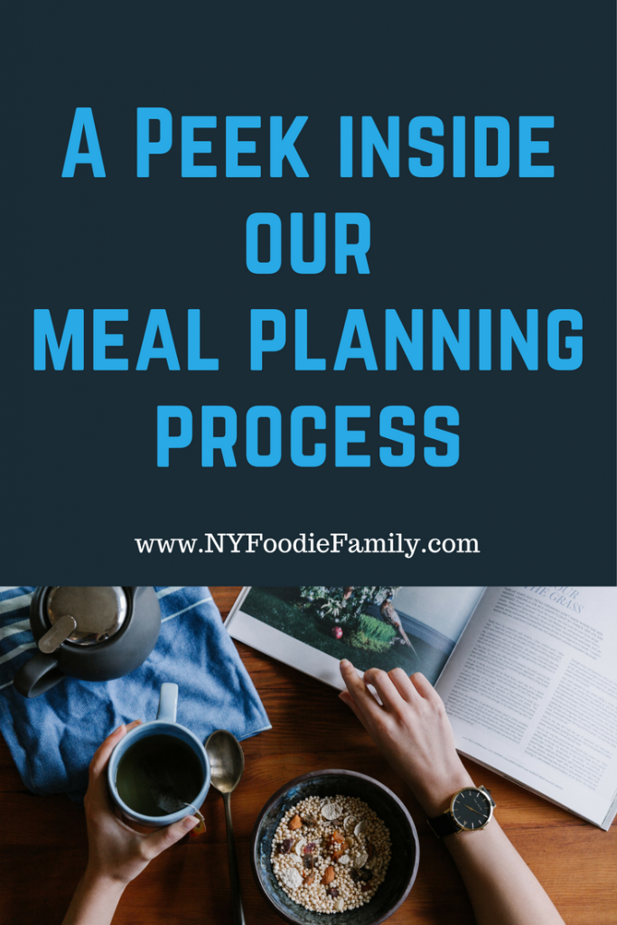 Check out how I make our family's weekly meal plan.