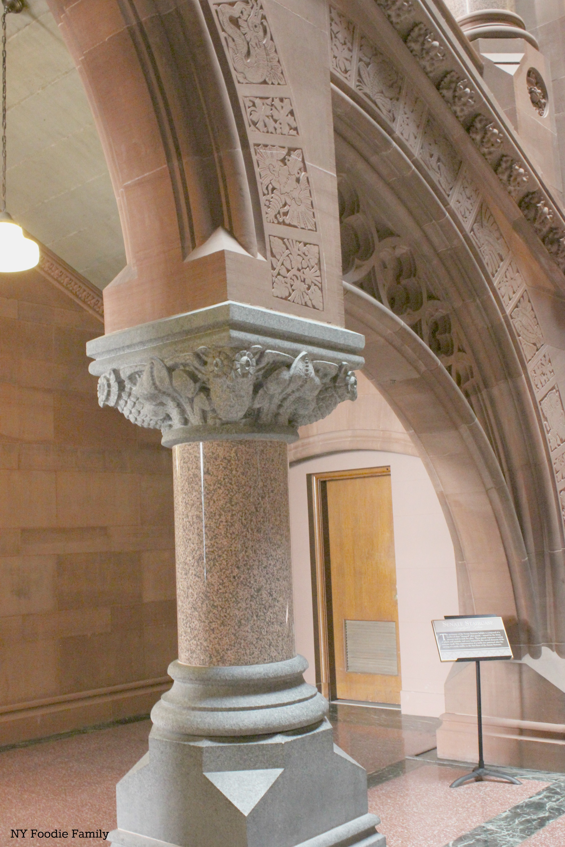 New york albany county albany 12224 - The First Stop On The Tour Is The Senate Staircase This Staircase Went Through A Major Renovation And The Final Results Were Unveiled By Governor Andrew