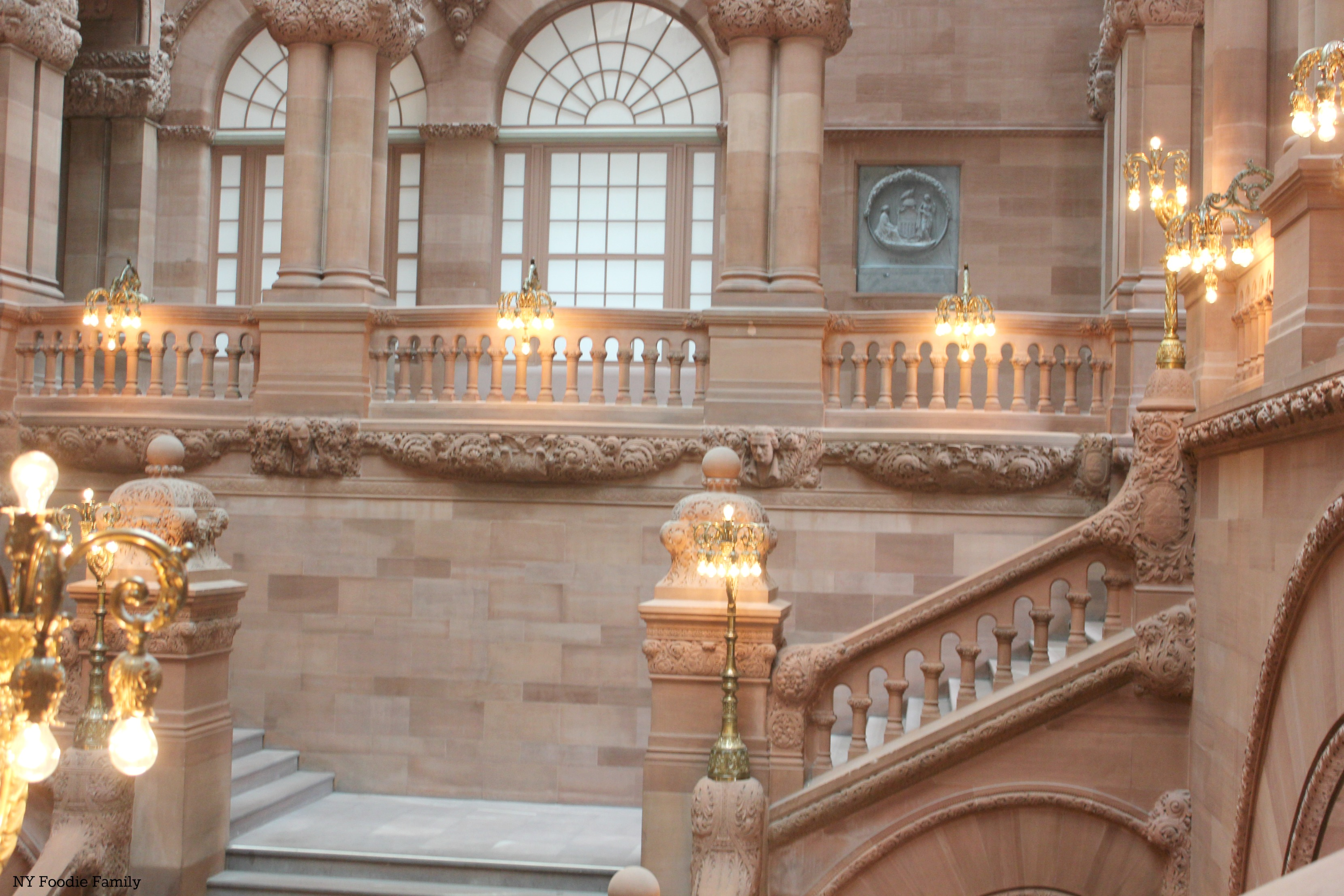 New york albany county albany 12224 - My Favorite Part Of The Tour Was Seeing The Staircases The Capitol Has Three Major Staircases That Are The Most Beautiful That I Think I Ve Ever Seen