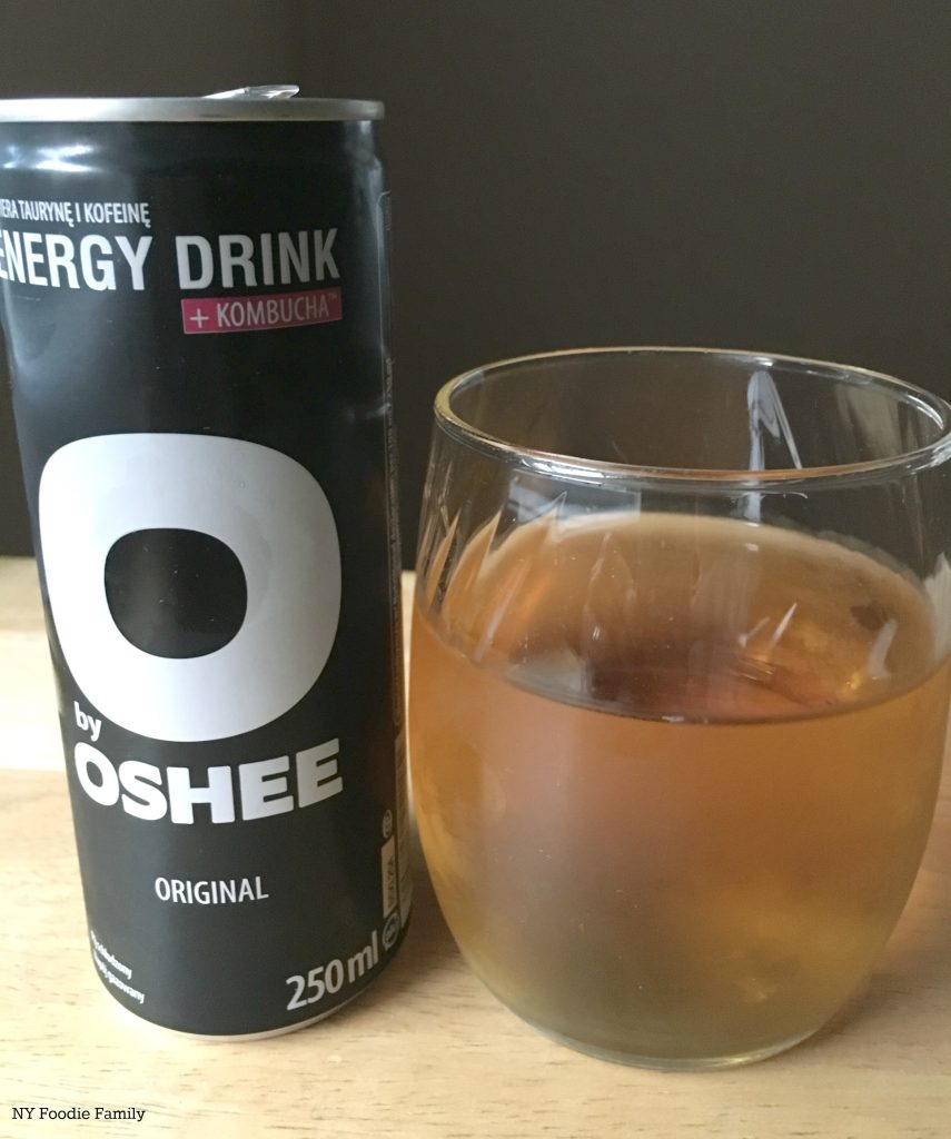 This kombucha energy beverage comes from Poland. It was included in our MunchPak snack subscription box.