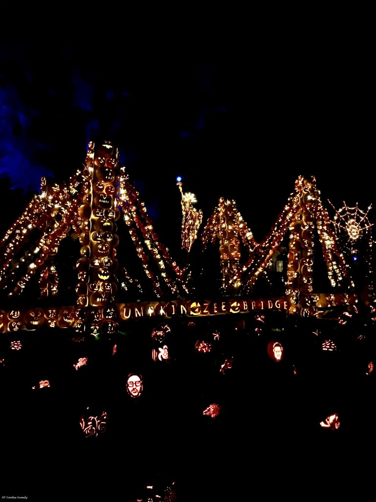 A display at the Great Jack O'Lantern Blaze 2017.