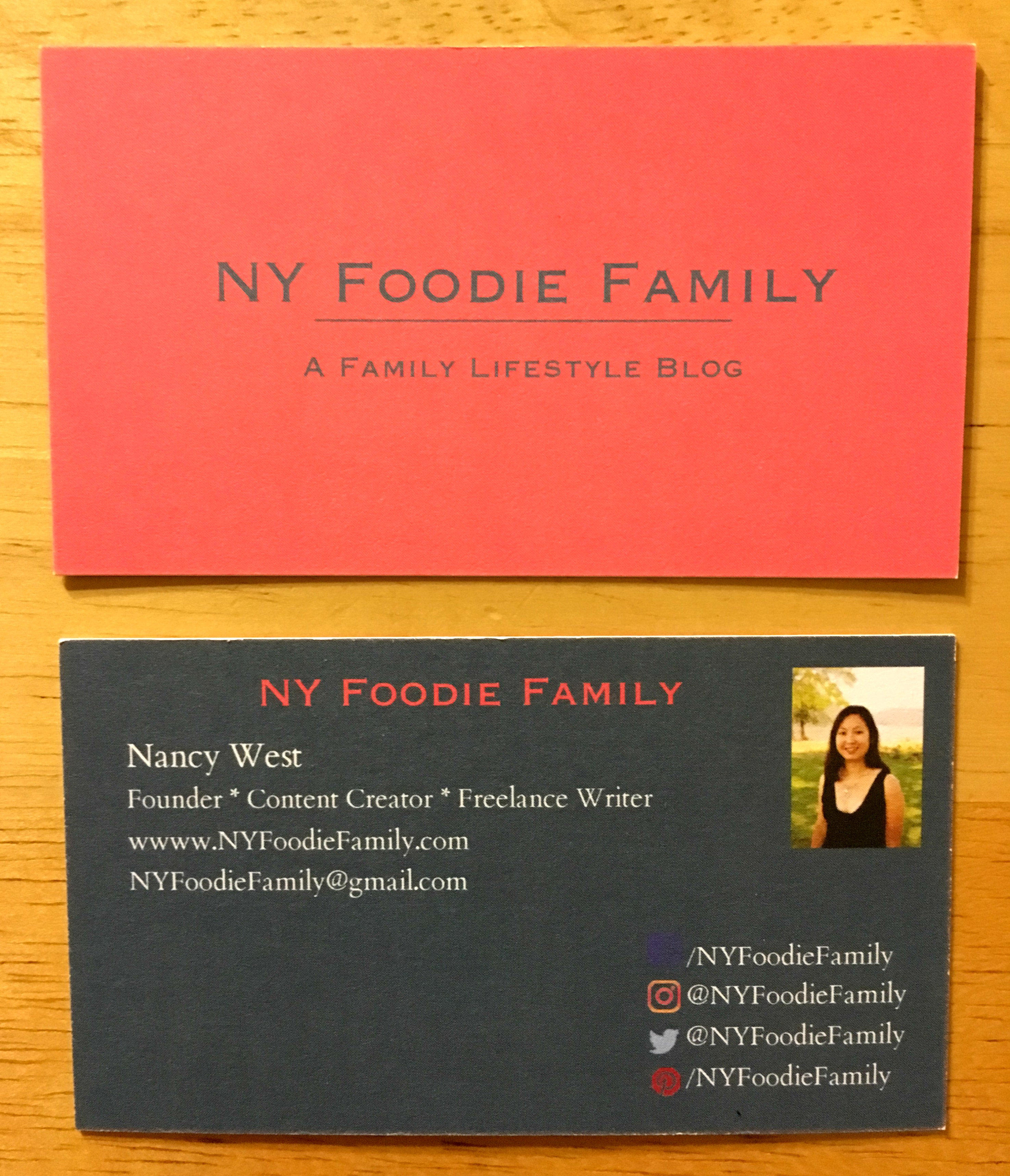 Beautiful photos of business cards buffalo ny business cards and five on friday archives ny foo family magicingreecefo Choice Image