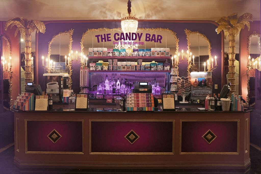The Candy Bar at Charlie and the Chocolate Factory musical.