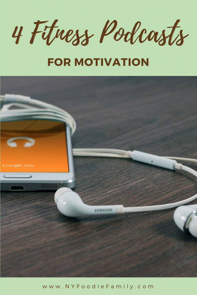 4 Fitness podcasts to help motivate and educate you on all things fitness and health.