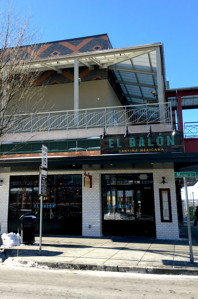 El Balon Cantina on Market Street at Ridge Hill in Yonkers.