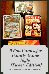 6 fun games for a tween family game night that parents won't mind playing.