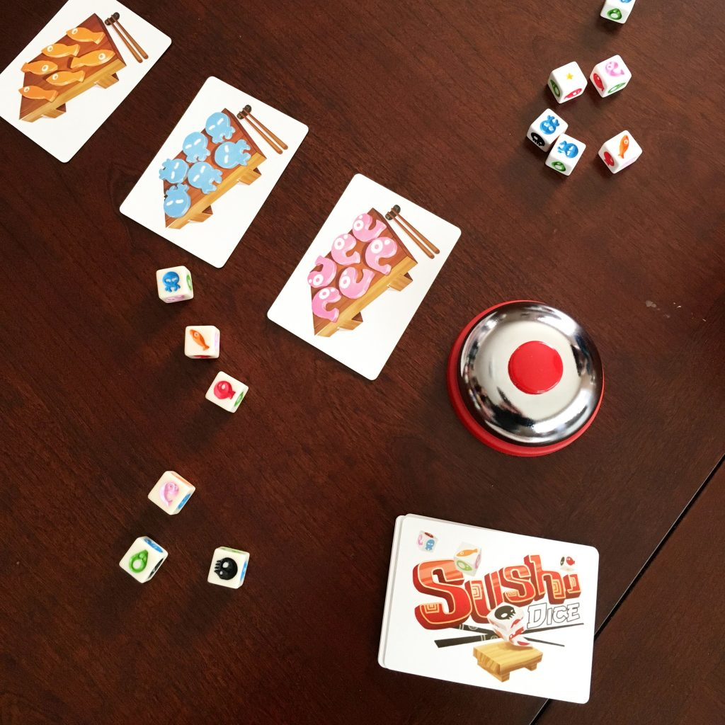 A fast-paced dice game that is fun for tweens and adults.