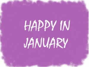 Happy in January