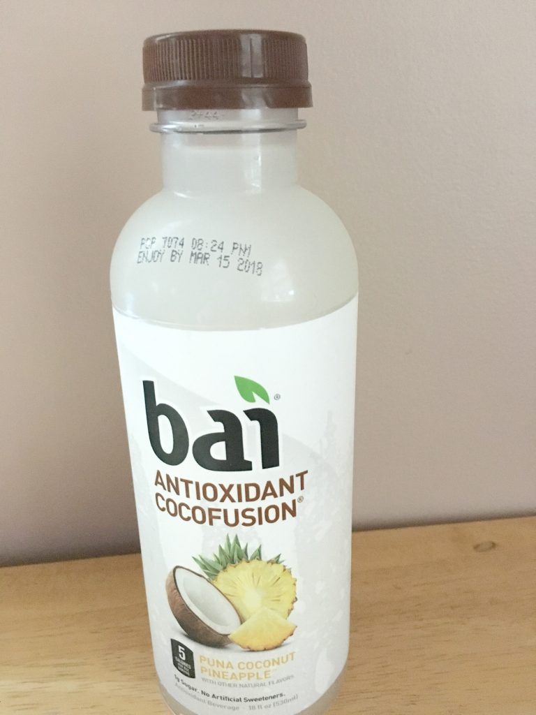 Included in our September beverage round-up this is a 5 calorie antixoxidant-infused beverage.