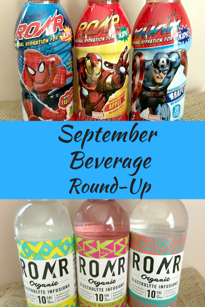A September Beverage Round-Up of the different drinks that we tried throughout the month.