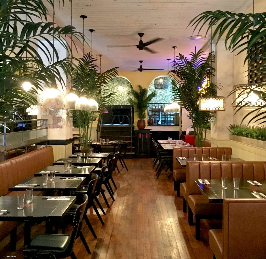 The Dining Space at Calle Dao in Chelsea.