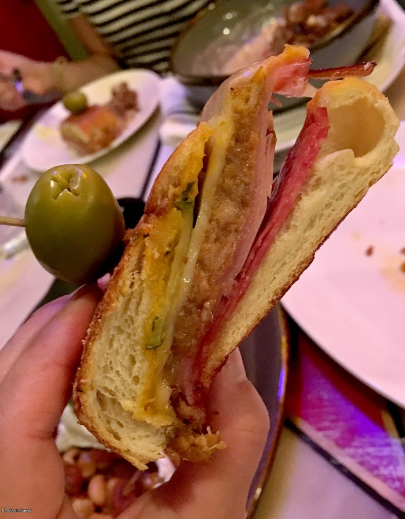 A classic Cuban sandwich served on the everyday brunch menu at Calle Dao.