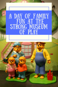 You will enjoy a full day of family fun at the Strong Museum of Play.