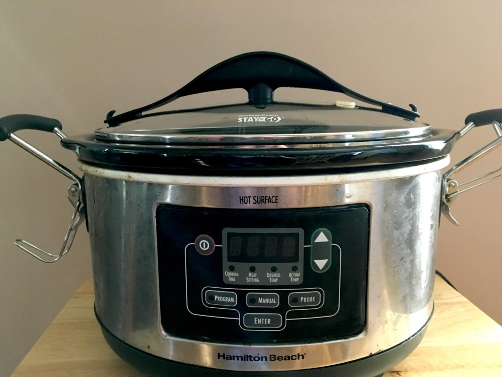 This Hamilton Beach Slow Cooker is one of the kitchen tools that I can't live without. There's nothing like prepping your slow cooker in the morning and having dinner ready when you get home from work!