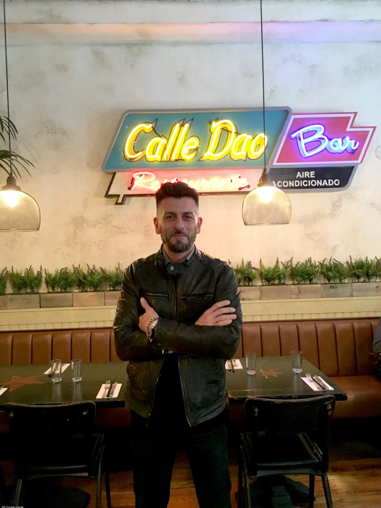 Owner of Calle Dao Marco Britti.