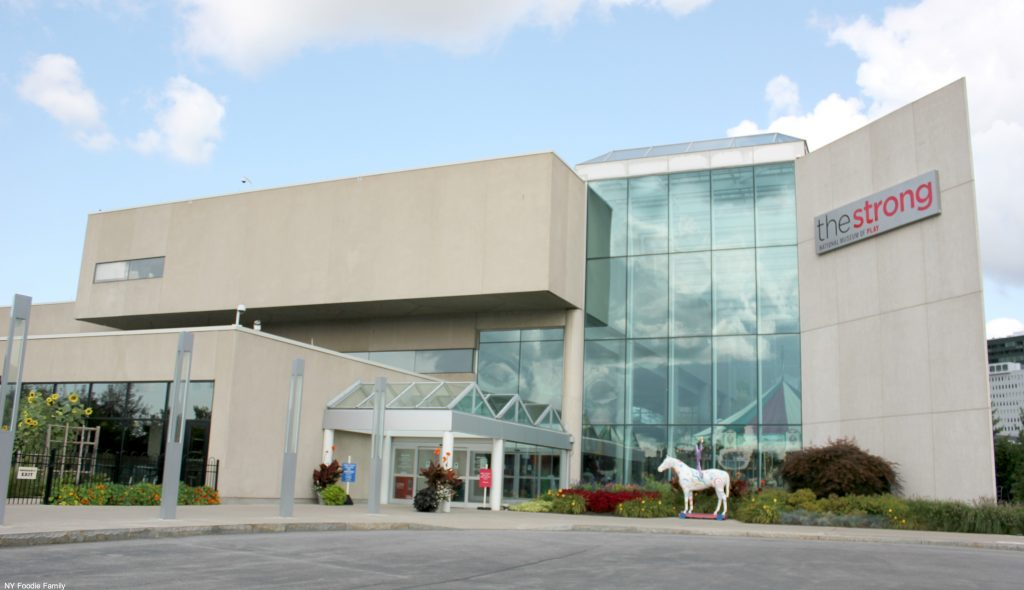 The Strong Museum located in Rochester, NY is a must-see family attraction.
