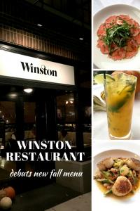 Winston Restaurant debuts new fall menu.