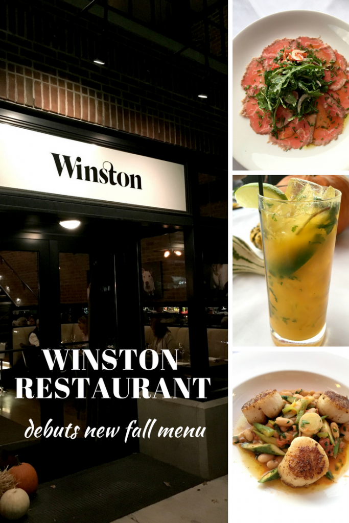 Winston Restaurant debuts new fall menu.