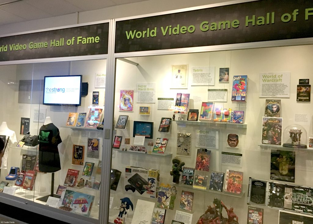 The World Video Game Hall of Fame at the Strong Museum.