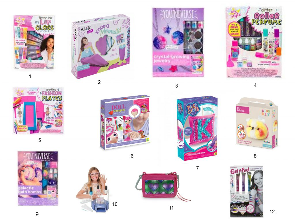 A collection of new 2017 activity kits for tween girls. Find something for that 9-11 year-old on your holiday shopping list.