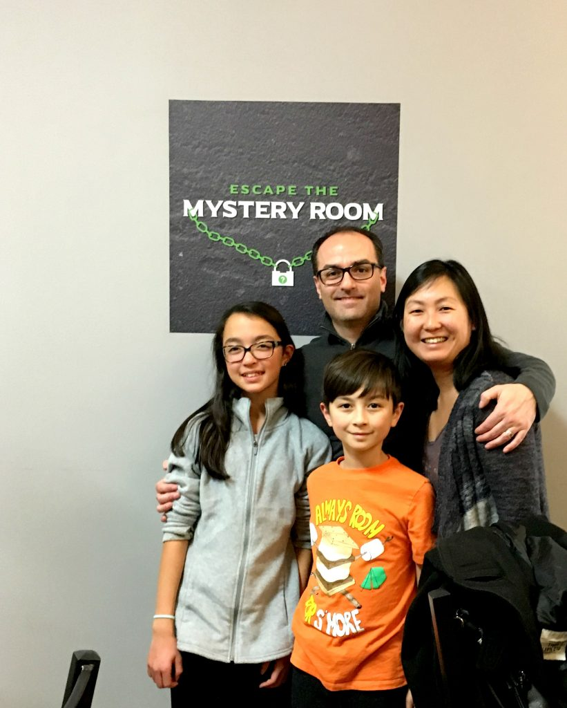 Escape The Mystery Room Family Date Night Ny Foodie Family