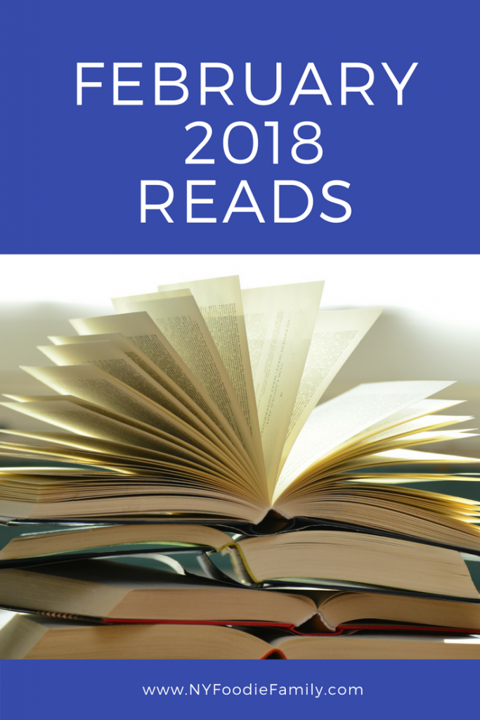 Ratings and reviews of my February2018 reads.