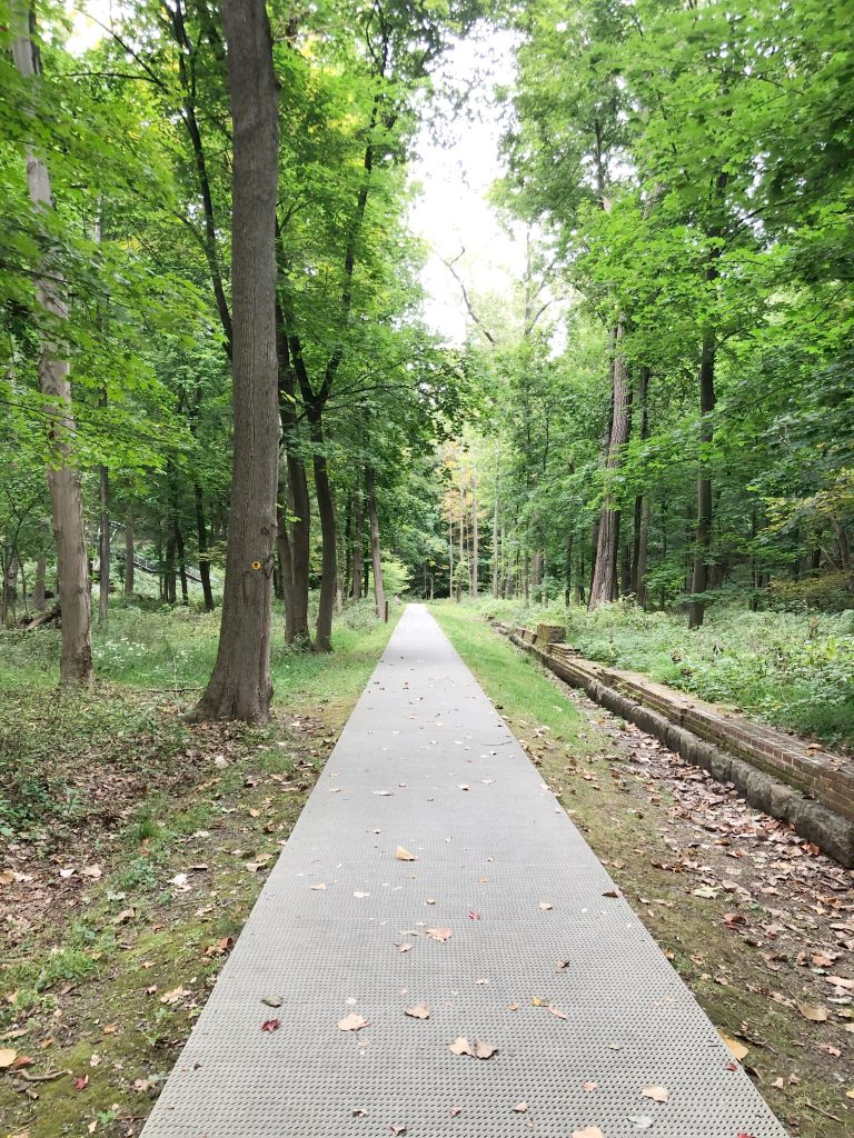 West Point Foundry walking path