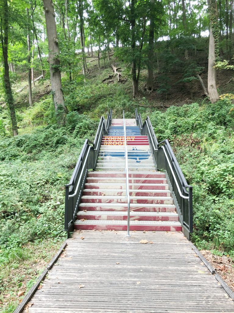 West Point Foundry stairs